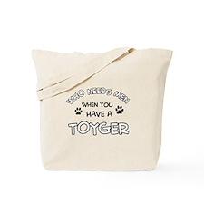 Funny Toyger designs Tote Bag