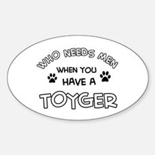 Funny Toyger designs Decal