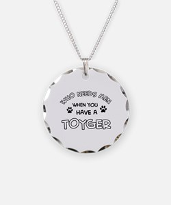 Funny Toyger designs Necklace