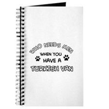 Funny Turkish Van designs Journal