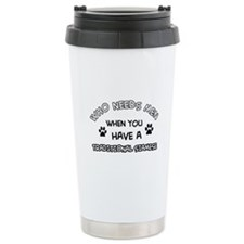 Funny Traditional Siamese designs Travel Mug