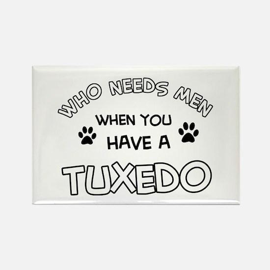Funny Tuxedo designs Rectangle Magnet (10 pack)