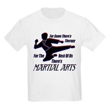 Martial Arts Therapy Kids T-Shirt