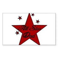 All Star Dad Decal