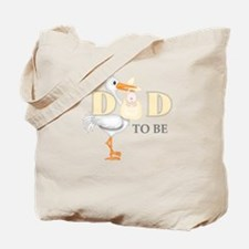 DAD TO BE STORK Tote Bag