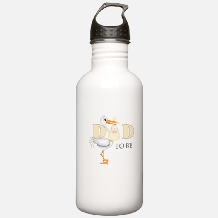 DAD TO BE STORK Water Bottle