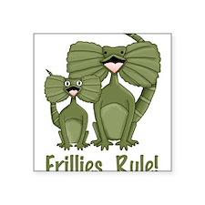 Darling Frillies Rule Illustration Sticker