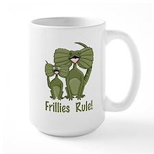 Darling Frillies Rule Illustration Mug