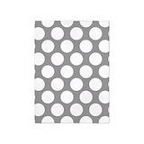 Pebble grey polka dot Bedroom Décor