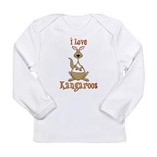i love kangaroos Long Sleeve T-Shirt