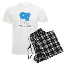 Pharmacist Retro Flower Pajamas