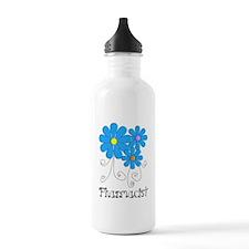 Pharmacist Retro Flower Water Bottle