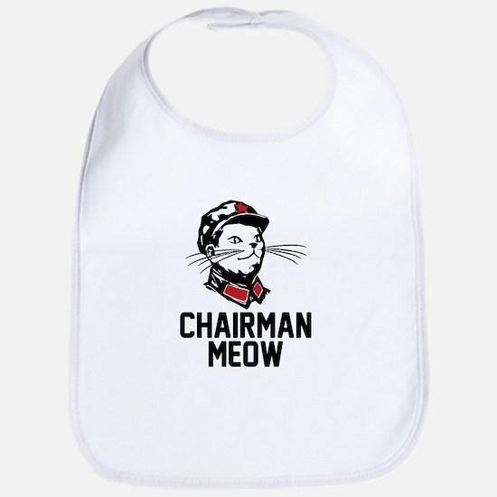 Chairman Meow Bib