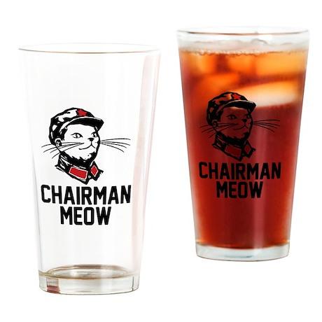 Chairman Meow Drinking Glass