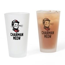 Chairman Meow Drinking Glass