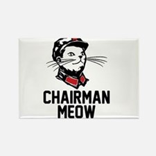 Chairman Meow Rectangle Magnet