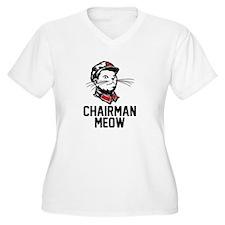 Chairman Meow Plus Size T-Shirt