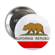 "California Republic State Flag 2.25"" Button"