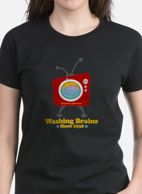 washing_brains_dark_2 T-Shirt