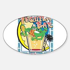 Gecko Charlies Margarita bar Rectangle Decal