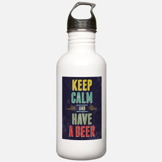 Keep Calm And Have A Beer Water Bottle