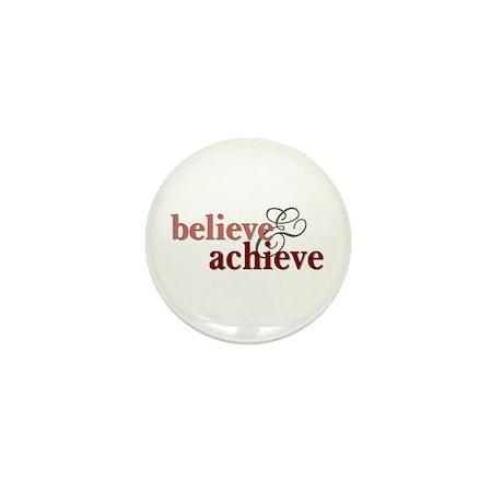 Believe & Achieve Mini Button (100 pack)