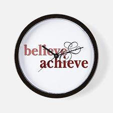 Believe & Achieve Wall Clock