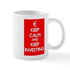 Keep Calm And Keep Investing Mug