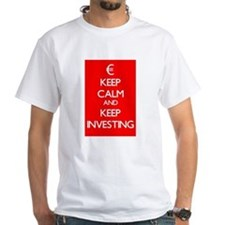 Keep Calm And Keep Investing T-Shirt