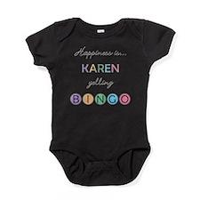 Karen Yelling BINGO Baby Bodysuit