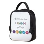 Luann Yelling BINGO Neoprene Lunch Bag