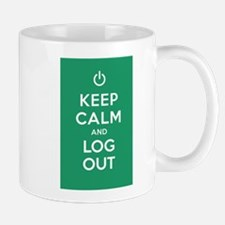 Keep Calm And Log Out Mug