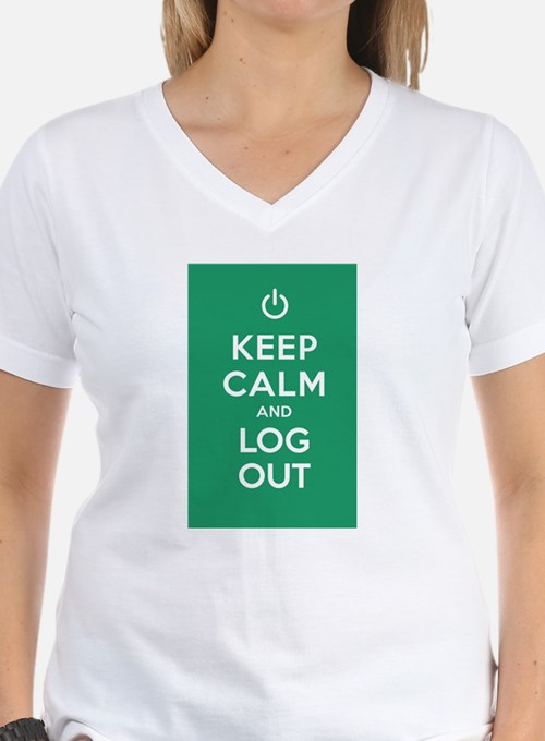 Keep Calm And Log Out T-Shirt