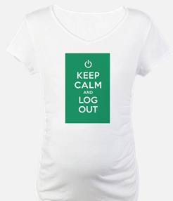 Keep Calm And Log Out Shirt