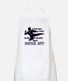Martial Arts Therapy BBQ Apron