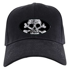 Worn Skull And Crossbones Baseball Hat