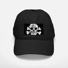 Worn Skull And Crossbones Baseball Hat