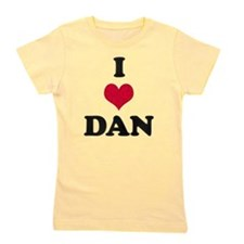 I Heart Dan Girl's Tee