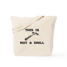 Cute Driller Tote Bag