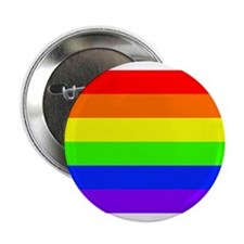 "LBGTQ Gay Pride Flag 2.25"" Button"