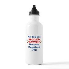 Spoiled Rotten Bernese Mountain Dog Water Bottle