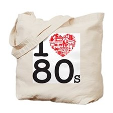 I Heart 80's Tote Bag