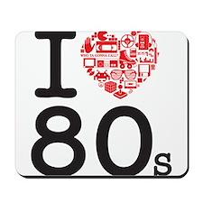I Heart 80's Mousepad