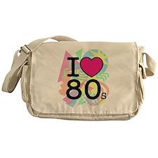 I Heart 80's Messenger Bag