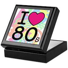 I Heart 80's Keepsake Box