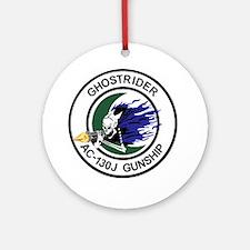 AC-130J Ghostrider Ornament (Round)