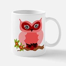 Cute Girly Owl Mug
