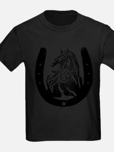 Horse Head & Horseshoe T-Shirt