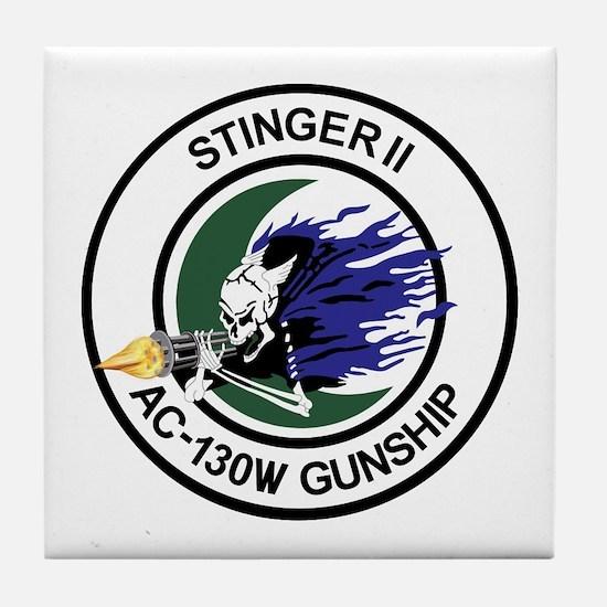 AC-130W Stinger II Tile Coaster