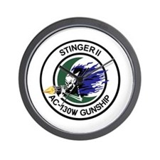 AC-130W Stinger II Wall Clock